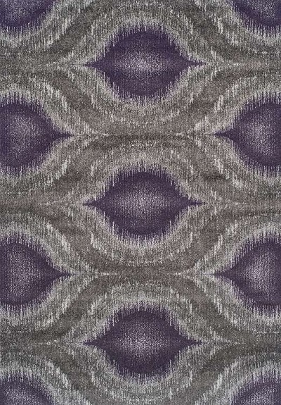 Modern Greys MG4441 Plum Area Rug by Dalyn