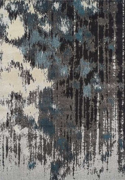 Modern Greys MG81 Teal Area Rug by Dalyn