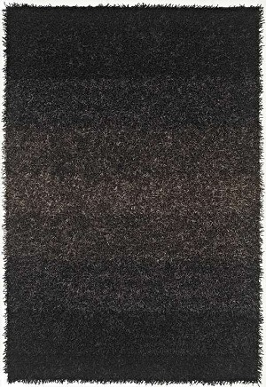 Spectrum SM100 Black Area Rug by Dalyn