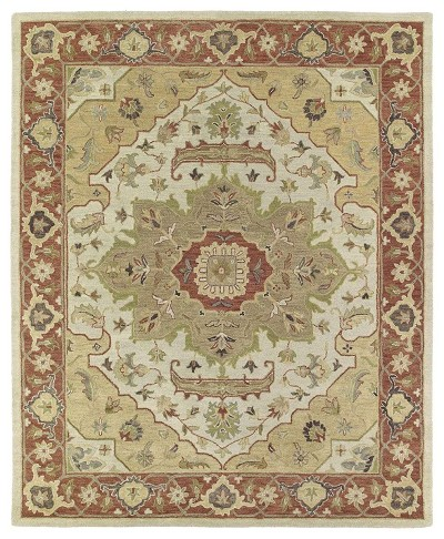 Solomon 4054-05 Micah Gold  Area Rug by Kaleen