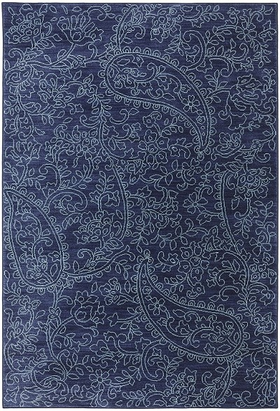 Karastan Pacifica Kingston Indigo 90487 50102 Area Rug