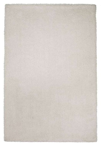 Bliss Shag 1550 Ivory White Area Rug by KAS
