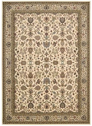 Kathy Ireland Antiquities KI11 ANT04 Ivory Area Rug by Nourison