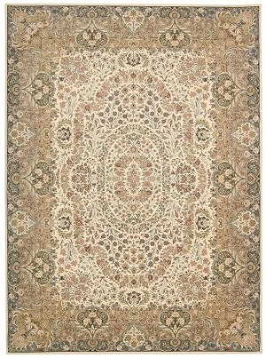 Kathy Ireland Antiquities KI11 ANT05 Ivory Area Rug by Nourison