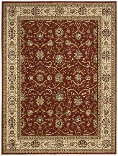 Persian Crown PC001 Brick Area Rug by Nourison
