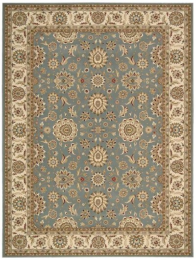 Persian Crown PC002 Blue Area Rug by Nourison