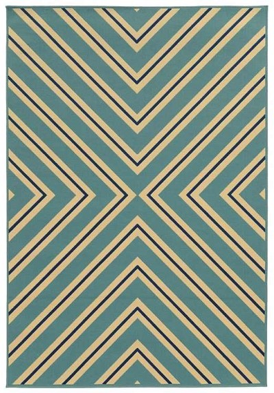 Riviera 4589 J  Indoor-Outdoor Area Rug by Oriental Weavers