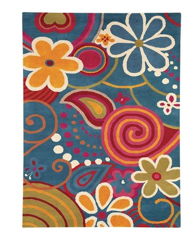 Fantasia 1704 Blue Area Rug by Dynamic Rugs