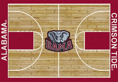 College Home Court 01010 Alabama