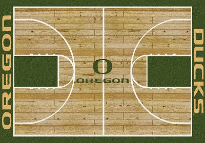 College Home Court 01292 Oregon