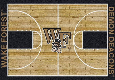 College Home Court 01462 Wake Forrest