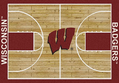College Home Court 01490 Wisconsin
