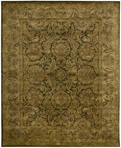 Jaipur JA30 Brown Area Rug by Nourison