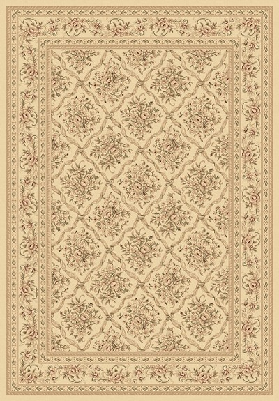 Legacy 58018-100 Ivory Area Rug by Dynamic Rugs