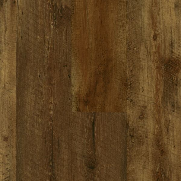 Armstrong Luxe With Rigid Core Farmhouse Plank Rugged Brown Luxury