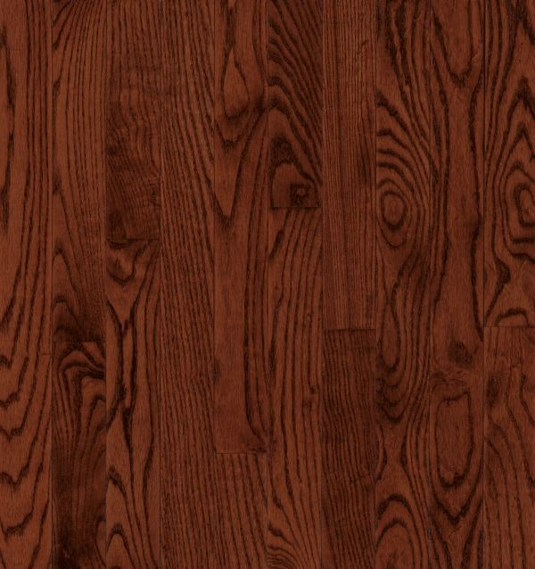 "Armstrong Dundee Plank Red Oak - Cherry Hardwood Flooring - 3/4"" x 5"""