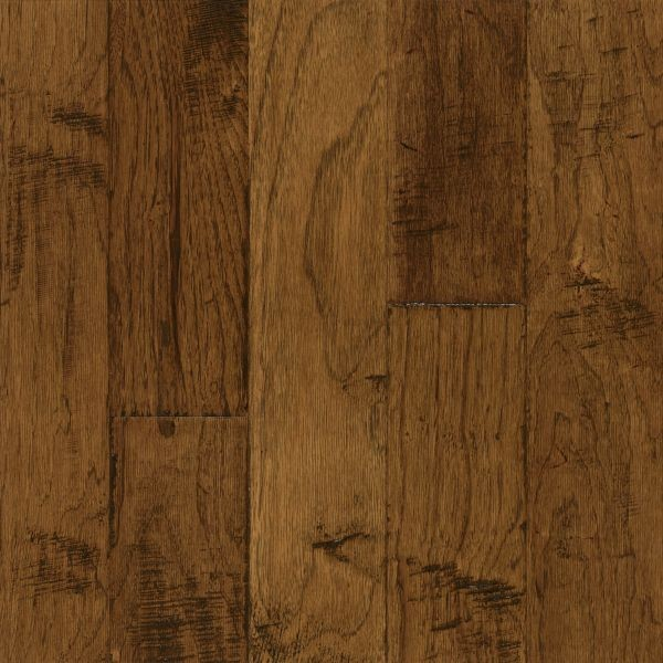 "Armstrong Frontier Hickory - Color Brushed Sahara Sand Hardwood Flooring - 3/8"" x 5"""