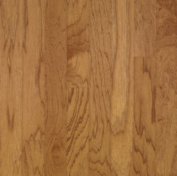 "Armstrong Turlington Lock&Fold Hickory - Golden Spice/Smokey Topaz Hardwood Flooring - 3/8"" x 5"""
