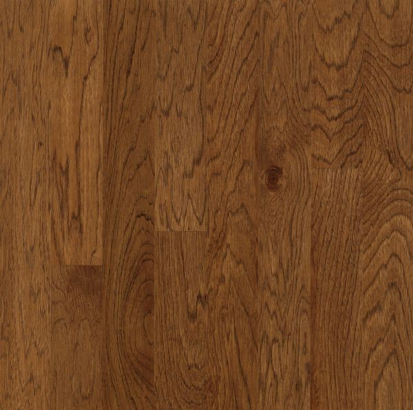 "Armstrong Turlington Lock&Fold Hickory - Falcon Brown Hardwood Flooring - 3/8"" x 3"""