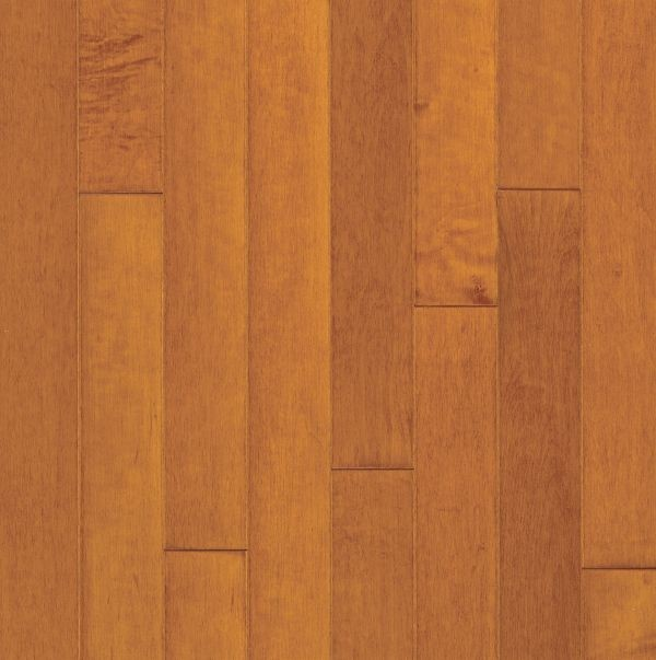 "Armstrong Turlington Lock&Fold Maple - Russet/Cinnamon Hardwood Flooring - 3/8"" x 3"""