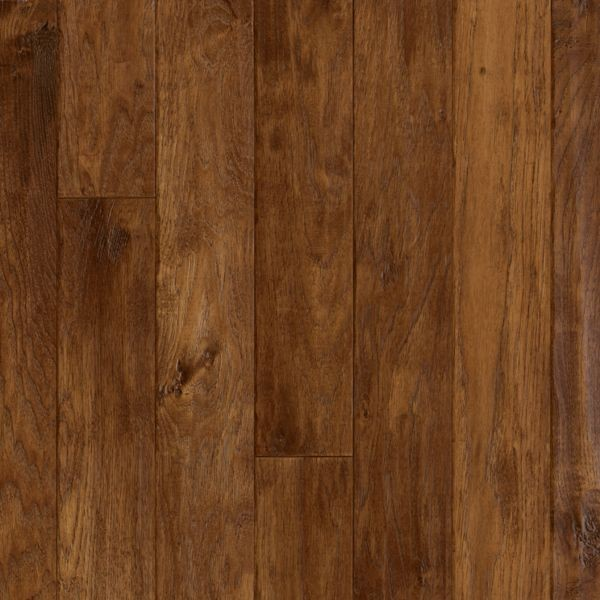 "Armstrong American Scrape Hardwood Hickory - Candy Apple Hardwood Flooring - 3/4"" x 3 1/4"""