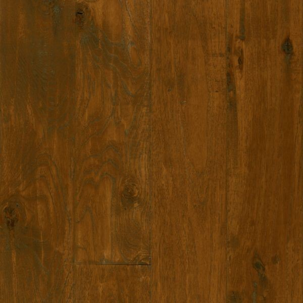 "Armstrong American Scrape Hardwood Hickory - Candy Apple Hardwood Flooring - 3/4"" x 5"""